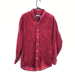 Vintage Chaps By Ralph Lauren Corduroy Shirt Sz M